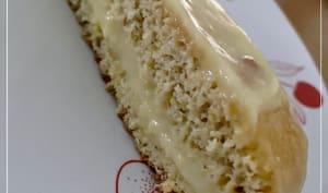 Génoise et sa crème pâtissière avec le cake factory