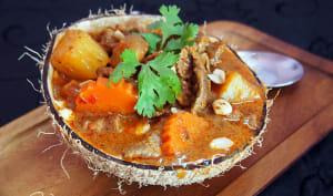 Curry massaman de boeuf