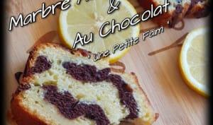 Marbré Au Lemon Curd et Au Chocolat