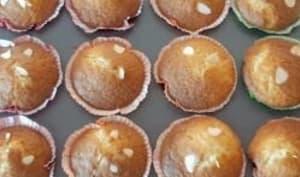 Muffins aux mirabelles et amandes