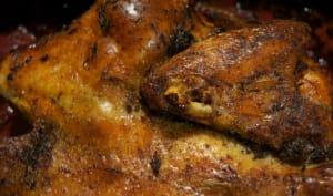Poulet rôti à la créole