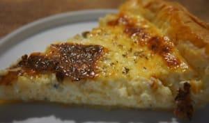 Quiche au fromage râpé