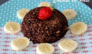 Bowl cake vegan chocolat banane