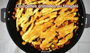 Courgettes gratinées au talagani