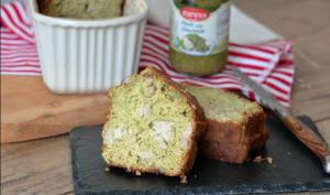 Cake moelleux au thon et au pesto