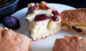 Gâteau rapide aux quetsches