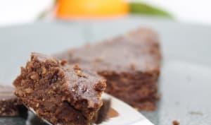 Fondant au chocolat, amandes et noix