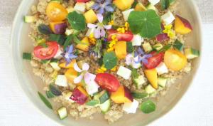 Salade de quinoa d'été