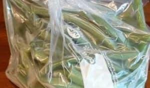 Comment congeler des haricots verts frais du jardin ?