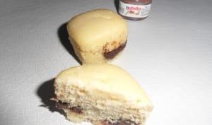 Muffins cœur Nutella