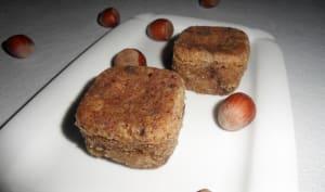 Muffins noisette et pépites de chocolat