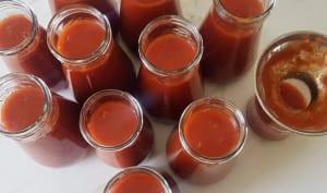 Faire et conserver du coulis de tomates maison