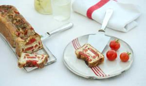 Gâteau salé sans gluten aux tomates