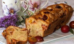 Cake aux prunes