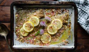 Limande sole au citron