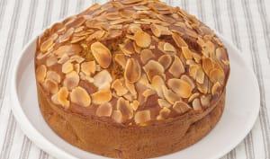 Gâteau moelleux aux framboises