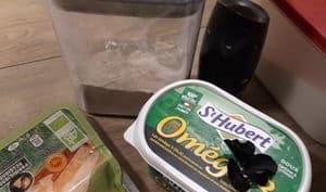 Sablés parmesan ail noir