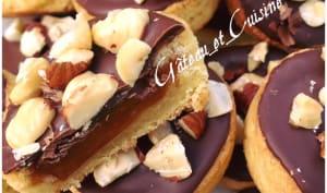 Sablé breton chocolat et caramel krumchy