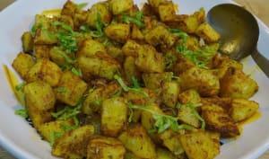 Pommes de terre aux épices rôties