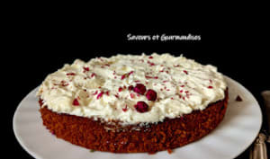 Gâteau à la betterave façon Red Velvet