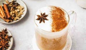 Chai latte maison