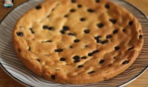 One pan cookie aux myrtilles