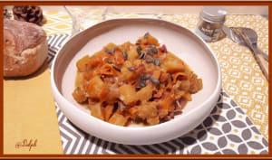 Poêlée de butternut, carotte au cumin