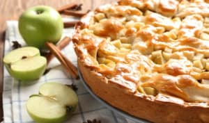 Délicieux gâteaux aux pommes et yaourt grec - Pâtisserie