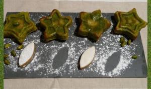 Moelleux pistache cœur de calisson