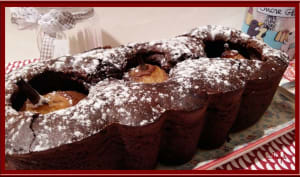 Cake poires mascarpone chocolaté