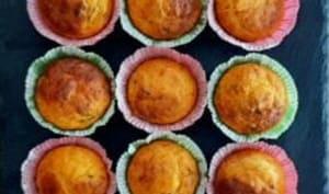 Mini muffins salés à base de tomate basilic