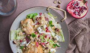 Salade de poires au Roquefort