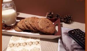 Cookies à la vergeoise et pépites de chocolat
