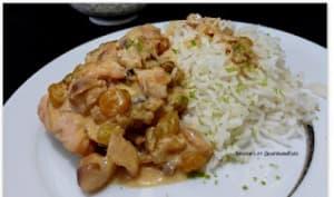 Curry de merlan au gingembre