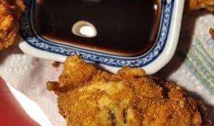 Pilons de poulet frits à la créole
