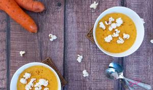 Velouté de maïs et carotte