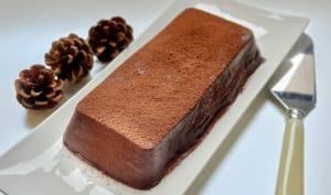 Crème prise au double-chocolat noir