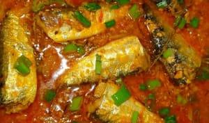 Sauce sardine créole