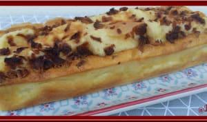 Cake au fromage de raclette et bacon