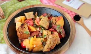 Salade de tomates aux anchois et aux câpres de Yotam Ottolenghi