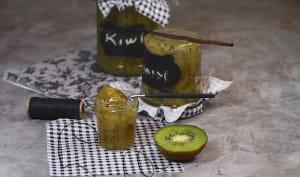 confiture de kiwis à la vanille