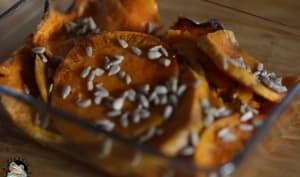 Patates douces rôties au piment d'Espelette et sirop d'érable