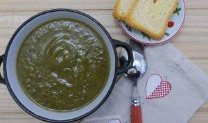 Soupe potiron et courgettes