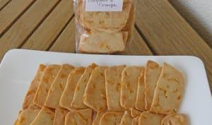 Biscuits croquants à l'orange confite