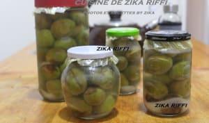 Conserves d'olives par lactofermentation