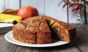 Gâteau potiron chocolat