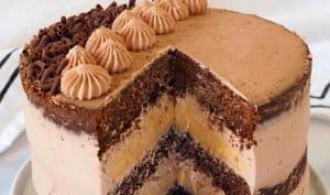Layer-Cake Chocolat Caramel
