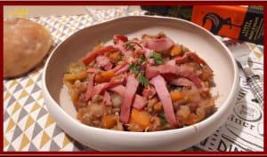 Fondue de carottes, pommes de terre au cumin