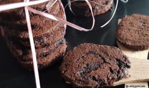 Sablés cacao aux farines de lupin et d'arachides (keto / low carb, sans gluten)