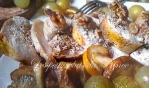 Ballotines de poulet fermier du Gers, aux fruits d'automne
